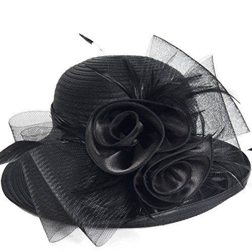 Womens Tea Party Church Baptism Kentucky Derby Dressy Hat