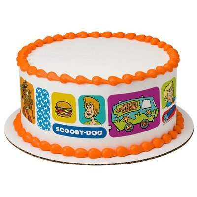 Scooby Doo Cake Strips Licensed Edible Cake Topper #7612 -