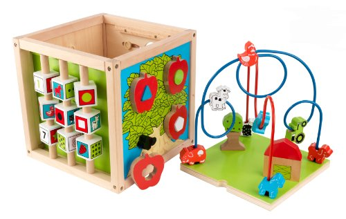 KidKraft Bead Maze Cube (Discontinued by manufacturer) by KidKraft