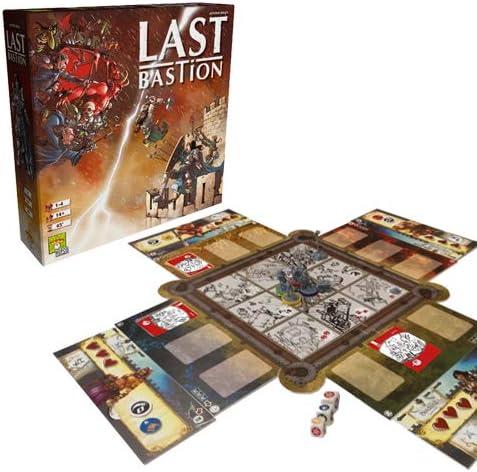 Asmodee Italia Last Bastion 8411 - Juego de Mesa: Amazon.es: Juguetes y juegos