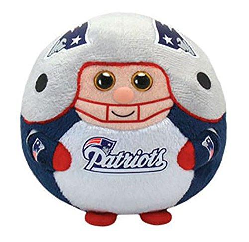 Ty Beanie Ballz New England Patriots Plush, NFL ()