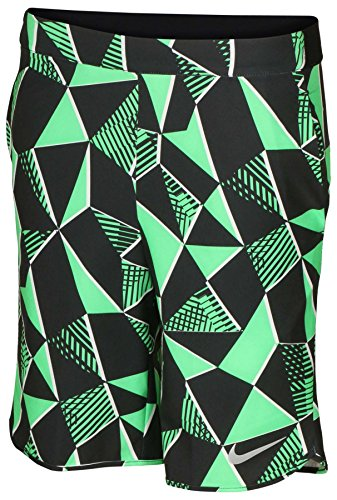 - Nike Big Boys' Dri-Fit Flex Ace Tennis Shorts-Green-Large