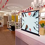 """Yescom 50"""" 4:3 Tabletop Pull-Up Projector Screen"""