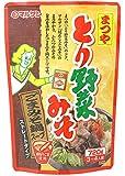 マルサンアイ まつやとり野菜みそ ごまみそ鍋スープ 720g×2袋