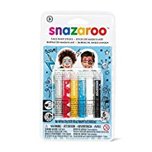 Snazaroo Face Paint Sticks - Boys, Set of 6