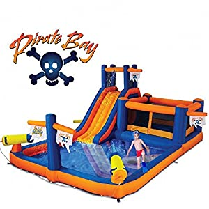 Blast Zone Pirate Bay Inflatable Combo Water Park and Bounce by Blast Zone Review