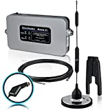 Smoothtalker Mobile X1 50dB High Power RV/Motorhome Cellular Signal Booster Kit with Plug-in 12V power supply