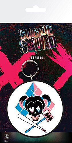 GB Eye LTD, Suicide Squad, Harley Quinn Skull, Llavero ...