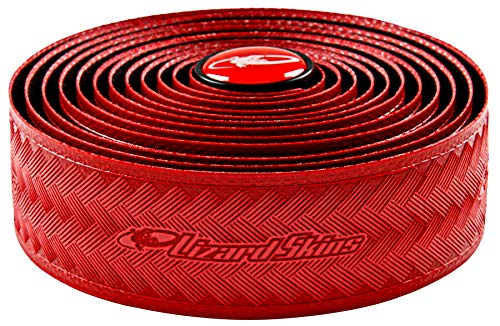 Lizard Skins Tape and Plugs Bar Tape, Red