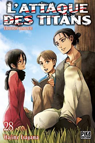 L'Attaque des Titans T28 Edition limitée (Pika Seinen) por Hajime Isayama