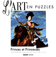 Art en puzzle Princes et Princesses par Caroline Larroche