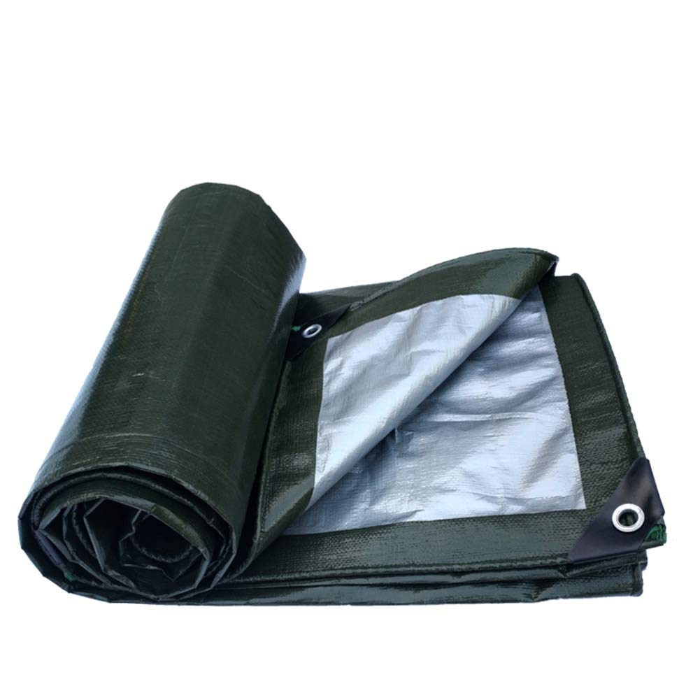 On Waterproof Tarpaulin Canvas,Rainproof Cloth Tarp Sheet shelter Thickening Tarp Cover-A 2x2m MACPTMDFQ