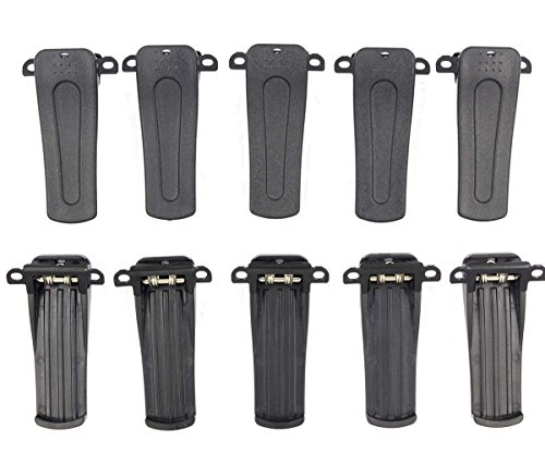 AUTOKAY 10pcs Belt Clip for RETEVIS H-777 BF-666S, BF-777S,BF-888S model Radio +Tracking