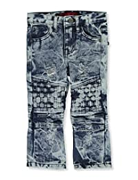 """LR Scoop Baby Boys' """"Sunrise Patched"""" Jeans"""