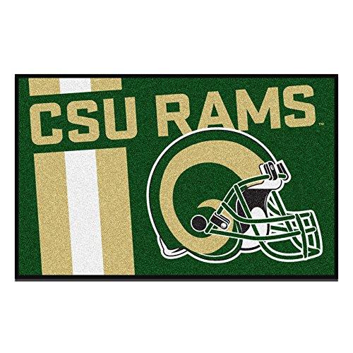 NCAA Colorado State University Rams Starter Mat Rectangular Area Rug Colorado State University Starter