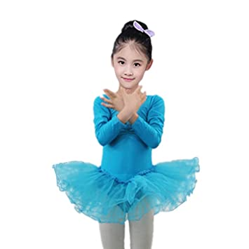 danza niña, Sannysis falda danza maillot danza Chicas Gasa ...