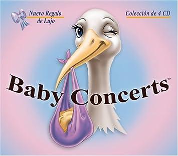 Pedro Eustache: Flauta y intrumentos de viento, Cesar Benitez: Arreglos y orquestración musical - Baby Concerts El Estuche de Regalo Lujo Colección de 4 CD ...