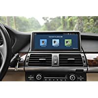 Rupse For BMW X5 E70 (2007-2010) BMW X6 E71 (2007-2010) With Factory CCC System 10.25 Android 4.4 Car GPS Navigation Radio Audio Stereo BT WiFi Mirror-link