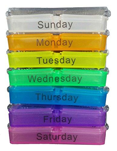 Médicaments 7 jours et la vitamine Organisateur, Easy Pop-Up Couverture: MEDIPAC. Ne attendez pas, Get it Now!