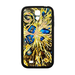 Custom Dr Who Tardis Police Call Box Painting Protective Skin Case for Samsung Galaxy S4
