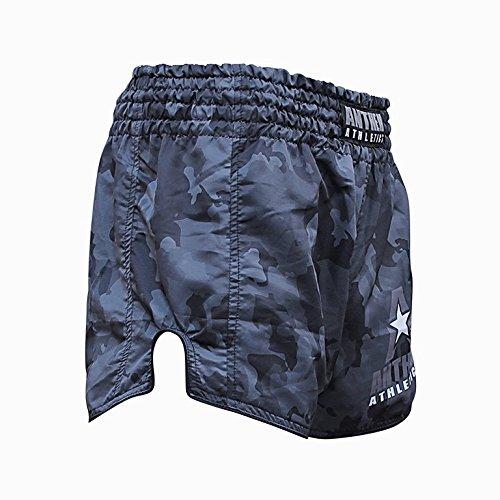 NEW! 10+ Styles - Anthem Athletics RECKONER Retro Muay Thai Shorts - Kickboxing, Thai Boxing, MMA - Night Camo - Large