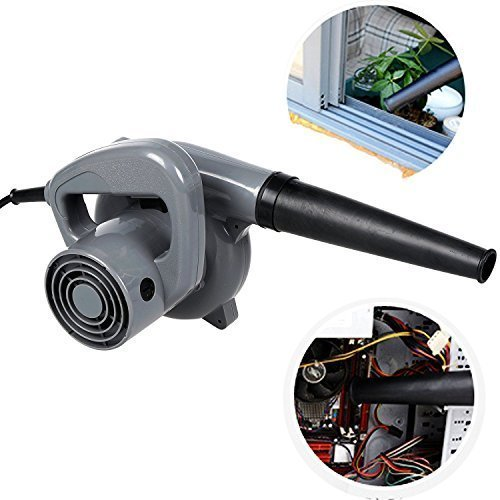 Benlet 500W Electric Leaf Lawn Blower Sweeper, Portable Garage/Shop/Yard/Patio Blower Vacuum Car Dryer Cleaner (13,000 Max RPM) by Benlet