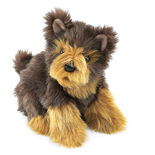 Folkmanis Yorkie Pup Hand Puppet by Folkmanis