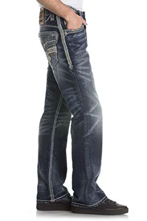 Amazon.com: Rock Revival B203 - Pantalones vaqueros para ...