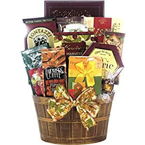 Great Arrivals Gourmet Thanksgiving Gift Basket, Thanksgiving Wishes