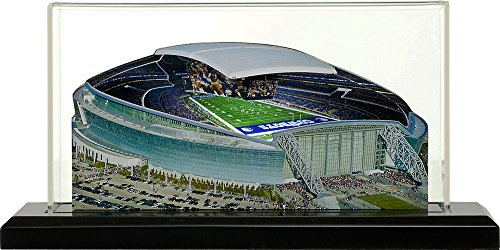 Home Fields Dallas Cowboys at&T Stadium, Small Lighted in Display Case ()