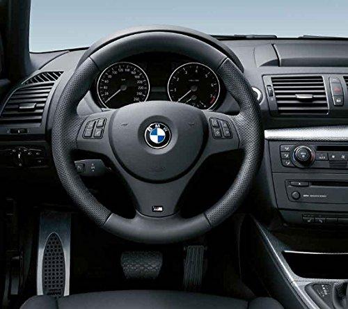 BMW Genuine M Steering Wheel Cover Trim Black (32 30 7 845 527)