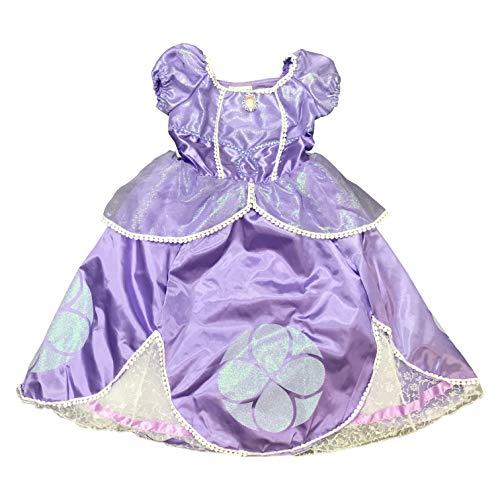 (DisneyParks Princess Sofia The First Costume Dress Purple Glitter Girls)