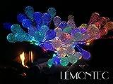 Lemontec Solar String Lights 20 Feet 30 LED Water