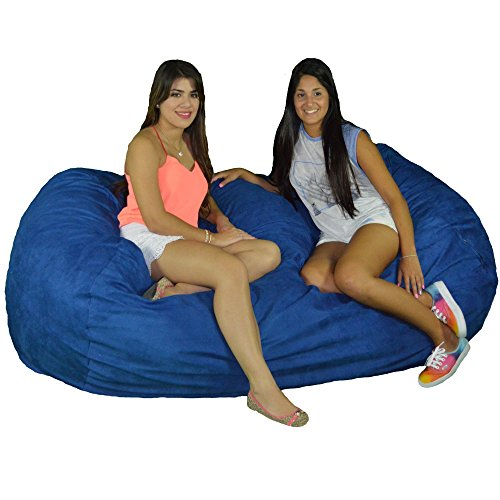 Cozy Sack 740-CBB-ROYAL Maui Beanbag Chair 7 Foot Royal Blue