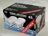 Feit Electric 65-Watt Indoor Flood Reflector Incandescent Light Bulbs (6-Pack)