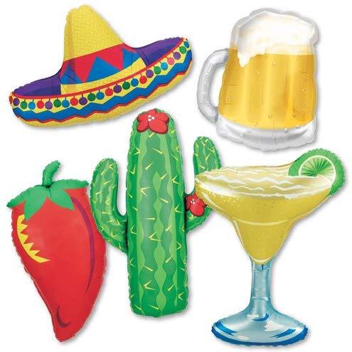 Fiesta Party Balloon Kit (Set of 5) -