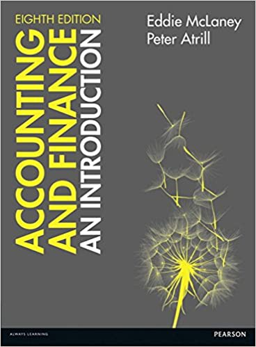 Accounting and finance an introduction 8th edition 8th edition accounting and finance an introduction 8th edition 8th edition eddie mclaney peter atrill 9781292088297 amazon books fandeluxe Images