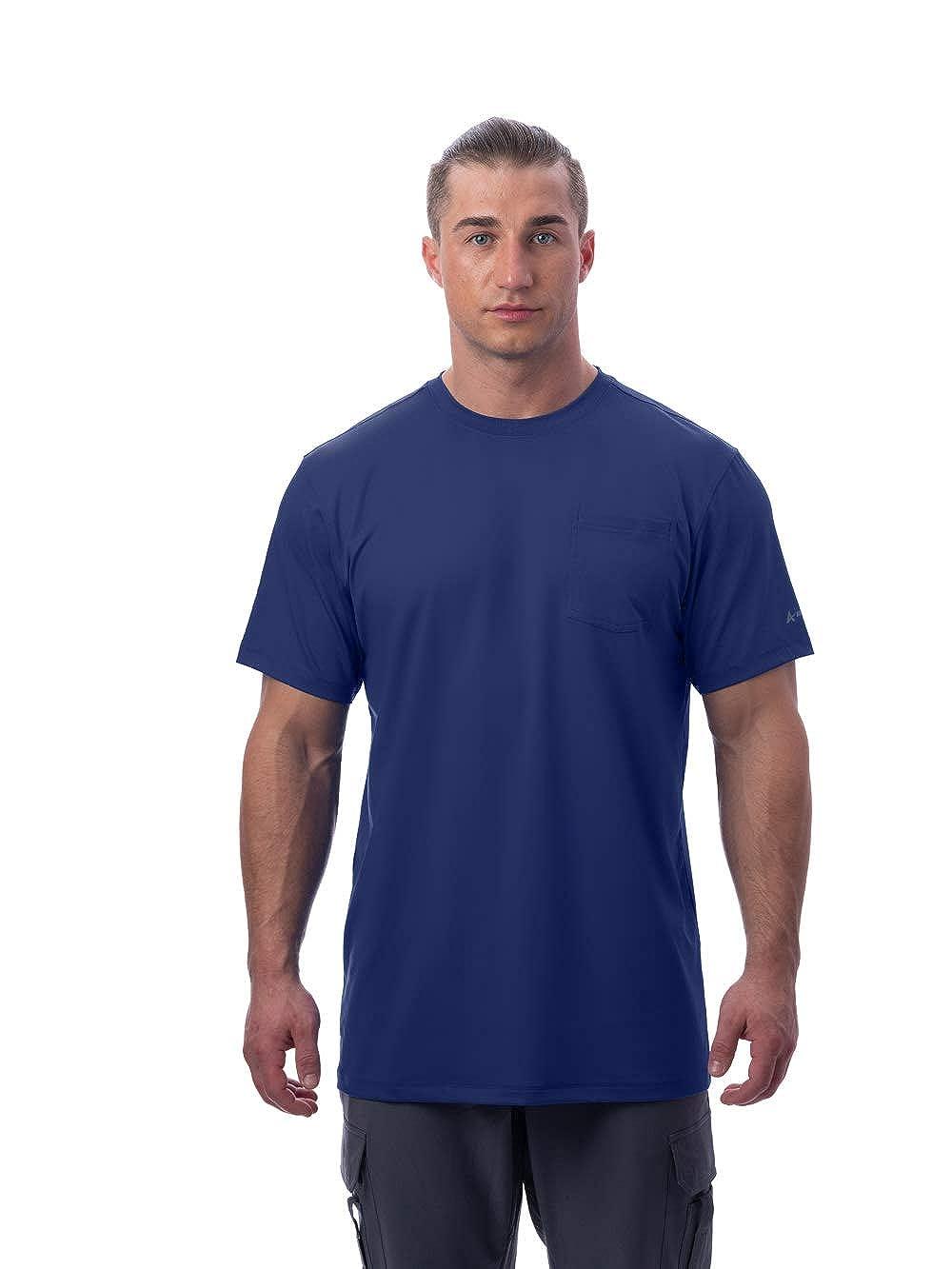Arctic Cool Men's Instant Cooling Short Sleeve Pocket Workwear Shirt