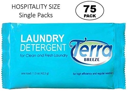 Terra Breeze Laundry Detergent Powder - 1.5 oz Packets