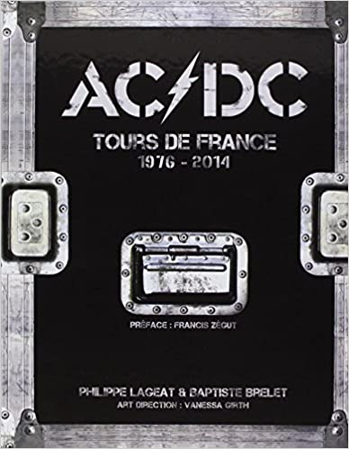 AC/DC Tours de France livre