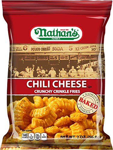 Chili Cheese Fry, 2 Ounce -- 6 per case. (Crinkle Cut Fries)
