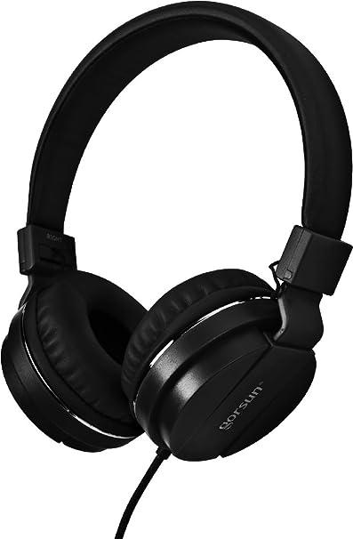 Gorsun Fashion Wired Control mic Music Phone Sport Gaming Headphone