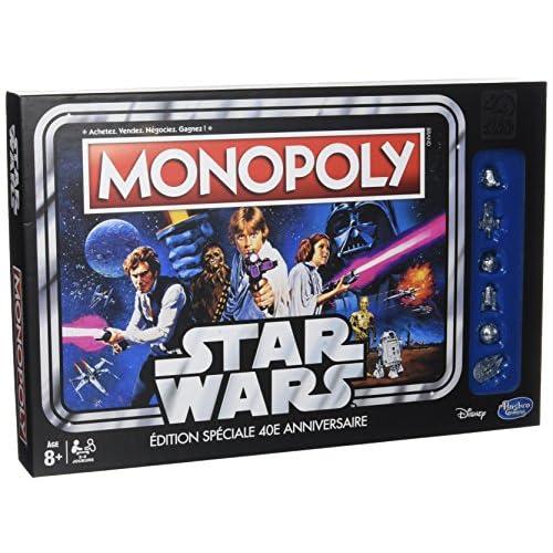 Hasbro C19901010 - Monopoly Star Wars 40 Ans -