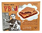 yogurt bars kids - Trader Joe's Gluten Free PB&J Bars (Pack of 2)