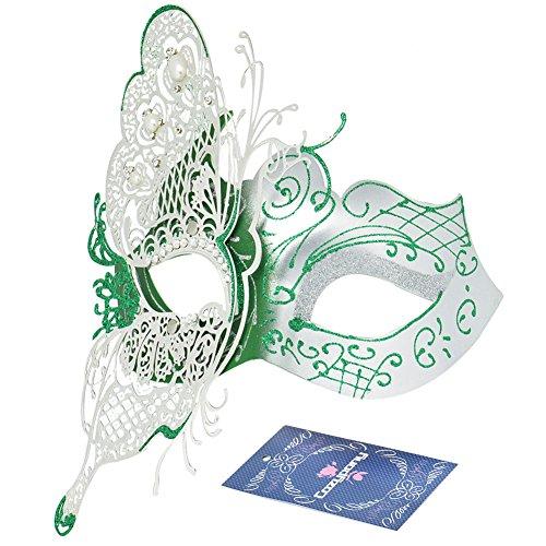 Party (Green Masquerade Masks)