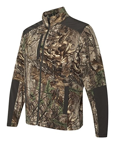 - DRI Duck Men's 7347 Explorer DDX Full-Zip Microfleece Nylon Zip-Up Jacket (3X-Large, Realtree Xtra)