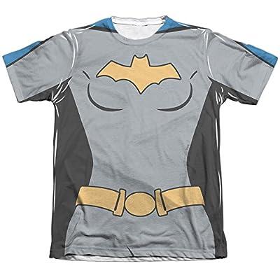 Batman The Animated Series Batgirl Uniform Mens Sublimation Shirt White Xl