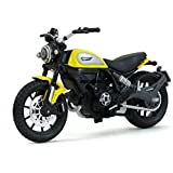 Maisto Ducati Scrambler Scale 1:8 Diecast Bike Model  with Moveable Kick Stand