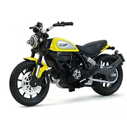 Buy Maisto Ducati Scrambler Scale 1:8 cast Bike Model with ...