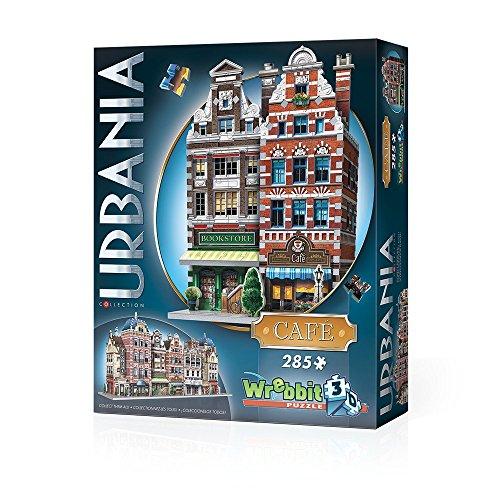 Wrebbit 3D Urbania Cafe 285 Puzzle
